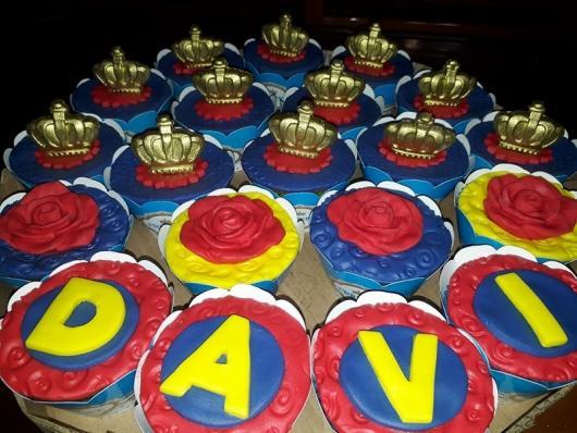 Cupcake personalizado Pequeno Príncipe