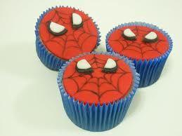 Cupcake personalizado Homem-Aranha