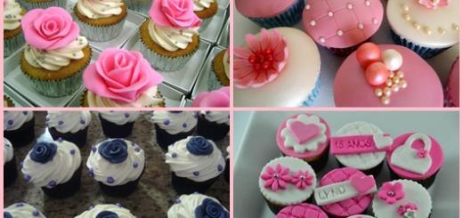 Cupcake personalizado inspirações