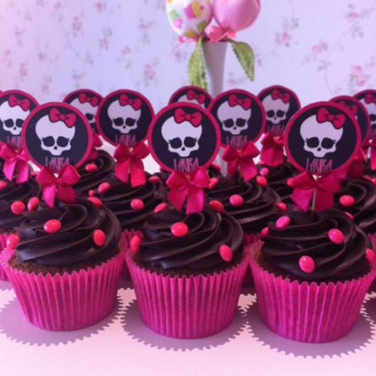 Cupcake personalizado Monster High