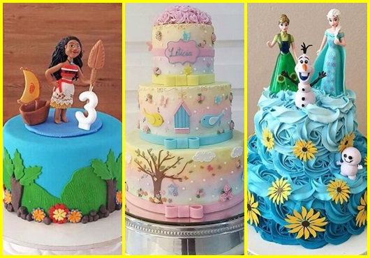 Modelos de bolo para festa infantil