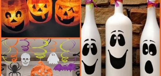 Enfeites de Halloween inspirações