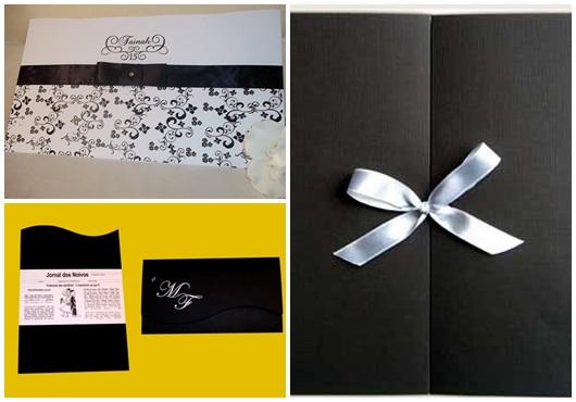 Envelope para convite inspirações