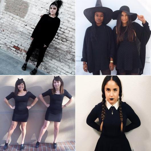 fantasias com vestido preto