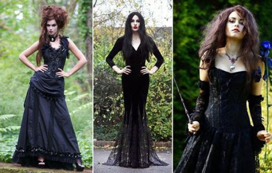 Inspire-se com modelos de fantasias com vestido preto