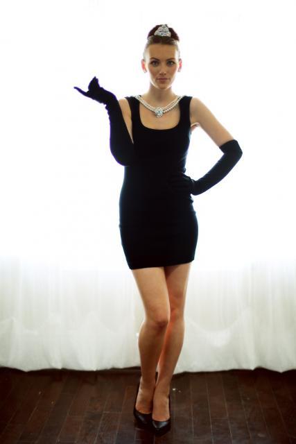 Fantasia clássica de Audrey Hepburn