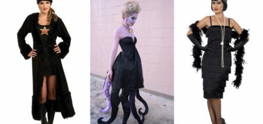 Conheça com a gente diversas ideias de fantasias com vestido preto!