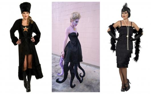 e7083eca4 Fantasia com Vestido Preto – 60 Ideias Criativas Usando seu Vestido!
