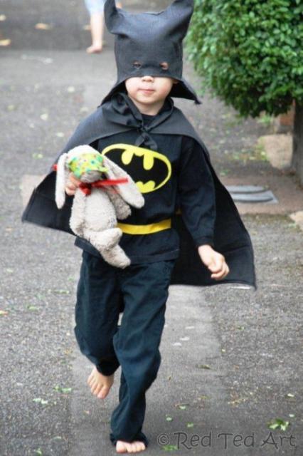 fantasia simples batman
