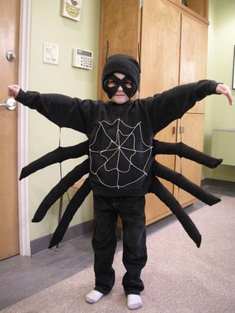 fantasia aranha