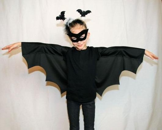 fantasia simples morcego