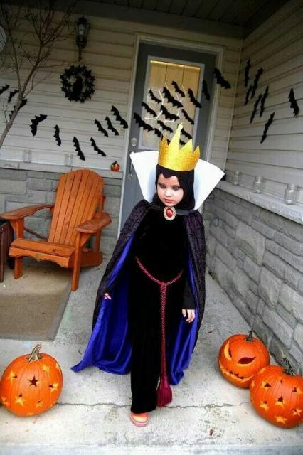 fantasia menina Bruxa Má