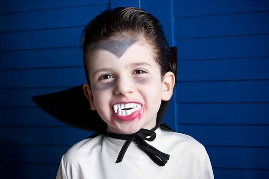 maquiagem para fantasia vampiro