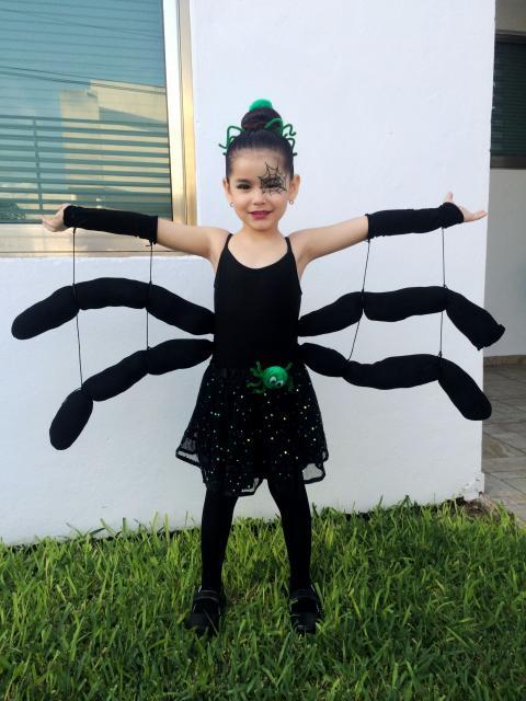 fantasia aranha infantil