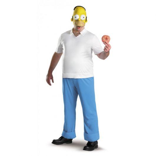 Fantasias engraçadas masculina Homer Simpson
