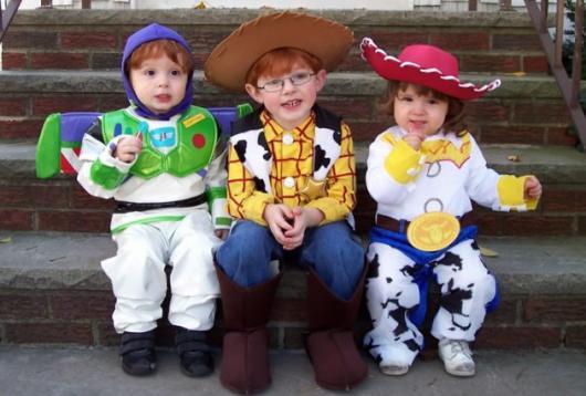 Fantasias engraçadas infantil Toy Story