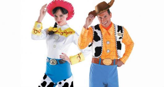Fantasias engraçadas para casal Toy Story
