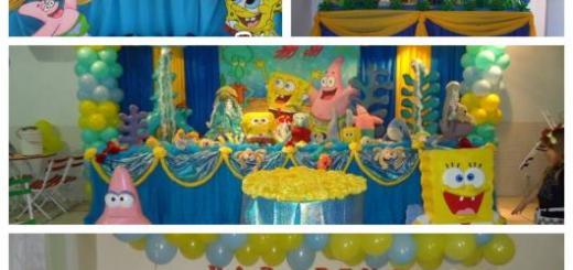 70 ideias perfeitas para montar uma festa Bob Esponja maravilhosa!