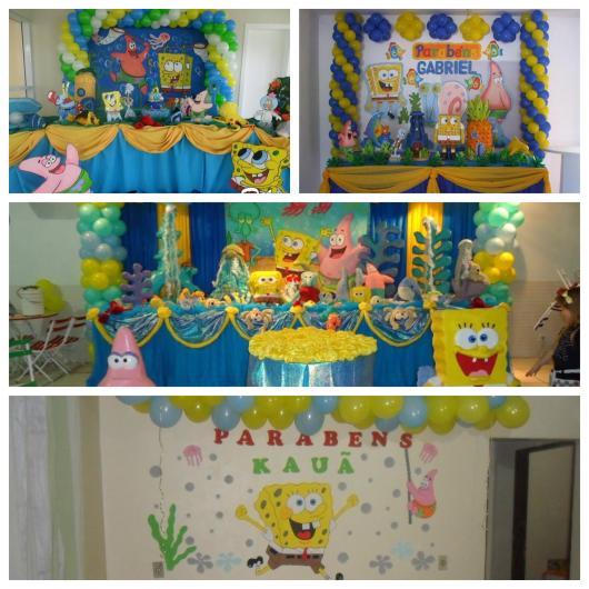 7f5321ba293 70 ideias perfeitas para montar uma festa Bob Esponja maravilhosa!