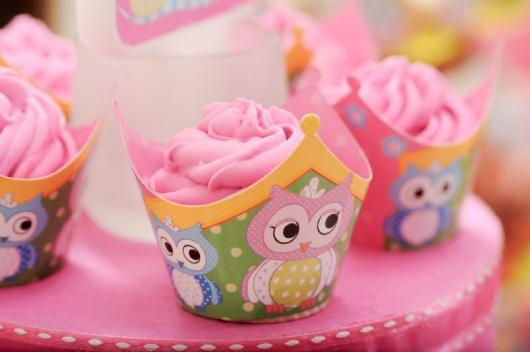 cupcake festa da corujinha