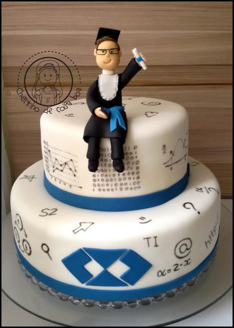Festa de formatura bolo Administração