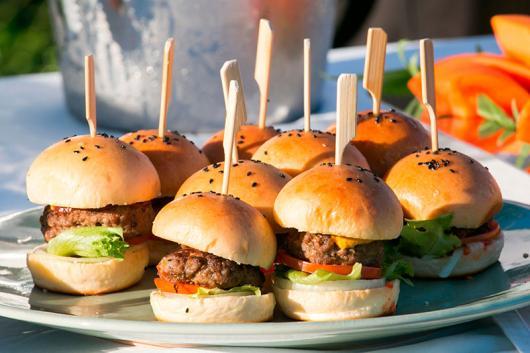 Festa de formatura cardápio hambúrguer