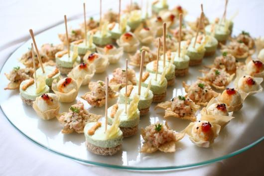 Festa de formatura cardápio finger food