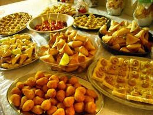 Festa de formatura cardápio salgados