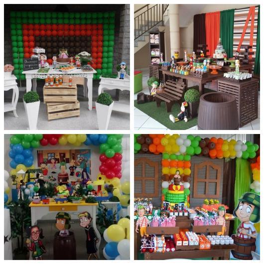 Do provençal ao rústico, do simples ao moderno: planeje sua festa do Chaves de acordo com seu estilo favorito!