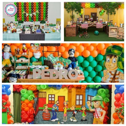 São várias ideias perfeitas para deixar a decoração da sua festa impecável!