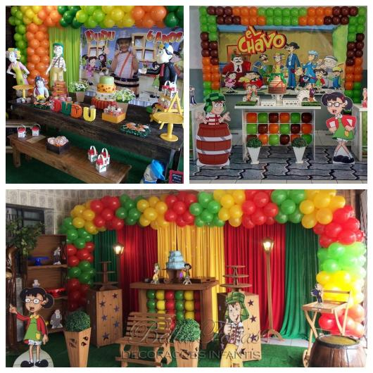 80 ideias incríveis para montar uma festa do Chaves deslumbrante!