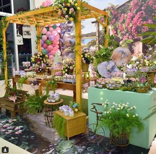 decoração luxuosa