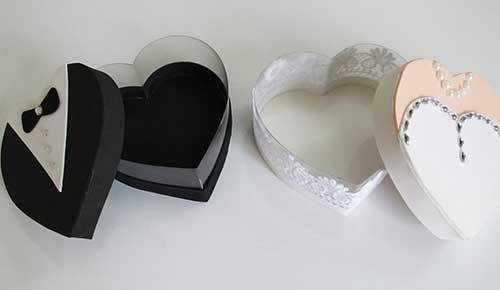 Lembrancinha de Casamento em EVA: caixinha para doces