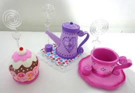 Lembrancinha de Chá de Panela de EVA: cupcake