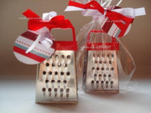 Lembrancinha de Chá de Panela Simples: mini ralador