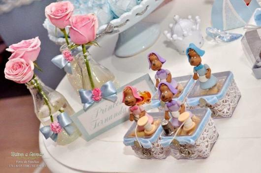 Aposte no biscuit dos ratinhos para inovar na decoração da festa Cinderela