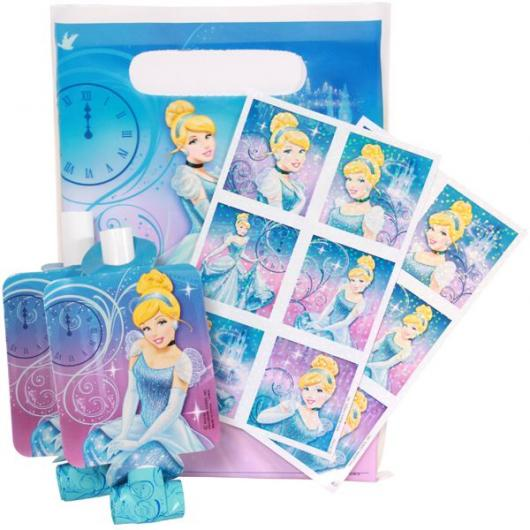 Você também pode encomendar adesivos exclusivos da Cinderela