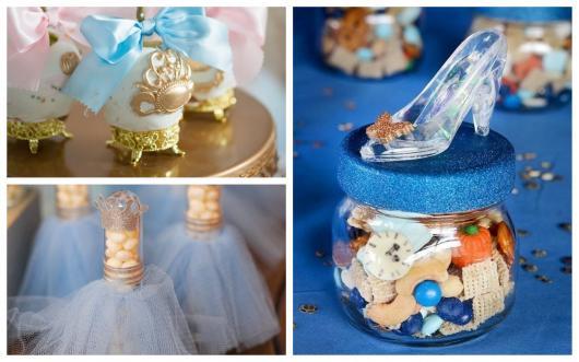 Conheça diversas opções de lembrancinhas da Cinderela!