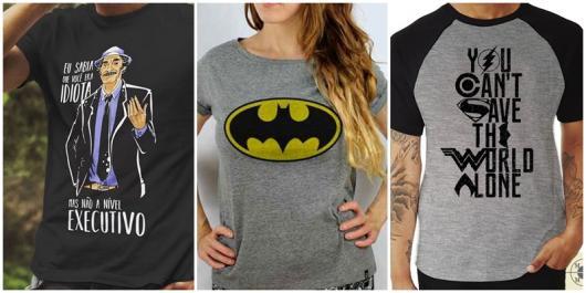 modelos de camisetas nerd
