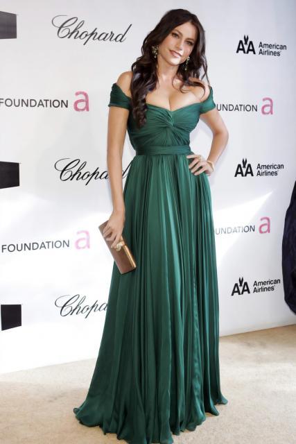 vestido de formatura verde longo