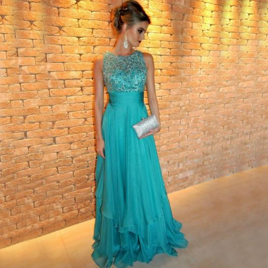 8fdcfc313 Vestido de Formatura Verde: 35 Modelos Lindíssimos & Dicas de Looks