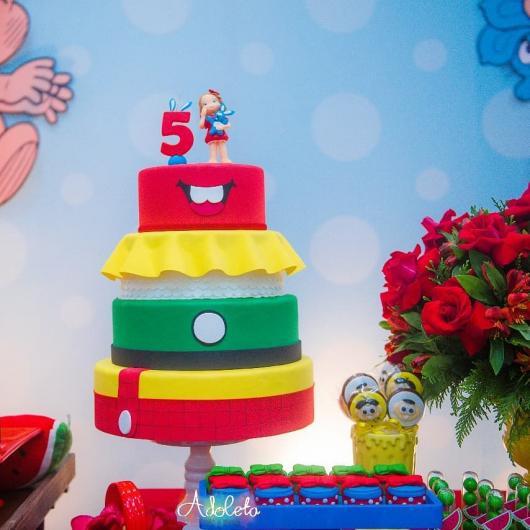 Aposte no bolo fake Turma da Mônica para decorar ainda mais a festa temática