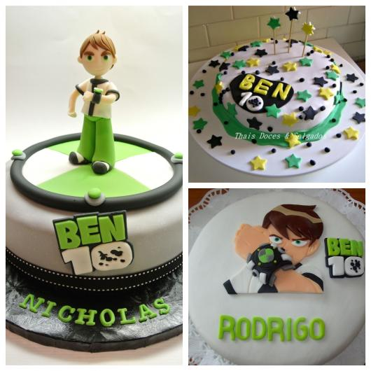 50 modelos de bolo do Ben 10 + dicas para incrementar sua festa!