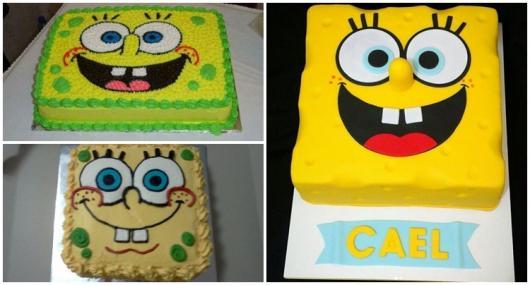 modelos para bolo quadrado