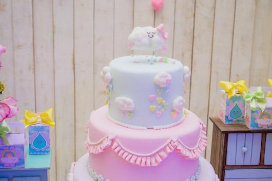 dicas de bolo fake chuva de amor