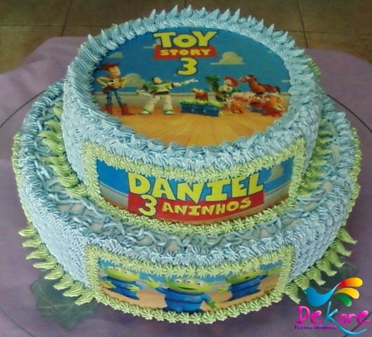 No bolo de dois andares, que tal?
