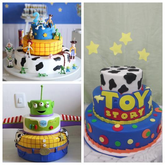 Os bolos de dois ou mais andares sempre encantam pela beleza no acabamento!