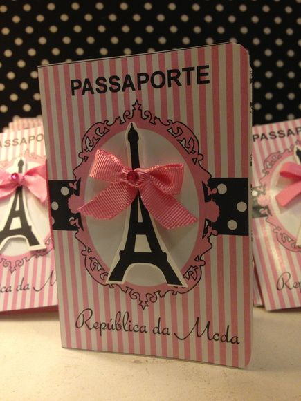 Dica para você decorar o convite da Barbie Paris