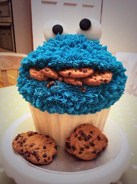 A cobertura é indispensável para a beleza do cupcake