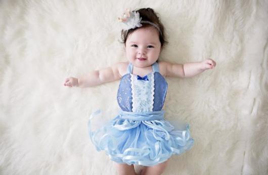 fantasia princesa bebê